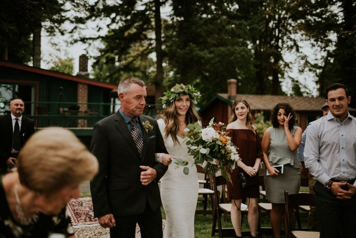 Rustic Oceanfront Vancouver Island Wedding at Dolphins ...