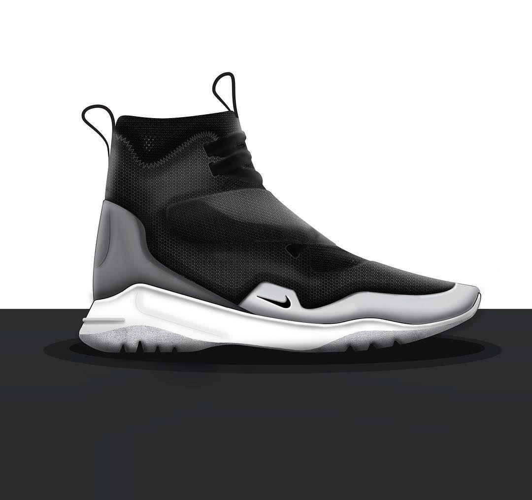 Concept | NikeLab. #nike #nikelab #ckinspiration #lacelessdesign  #callingallcreators #snkrsq #kicksonlast #callingallcreators #pensole # footwear ...
