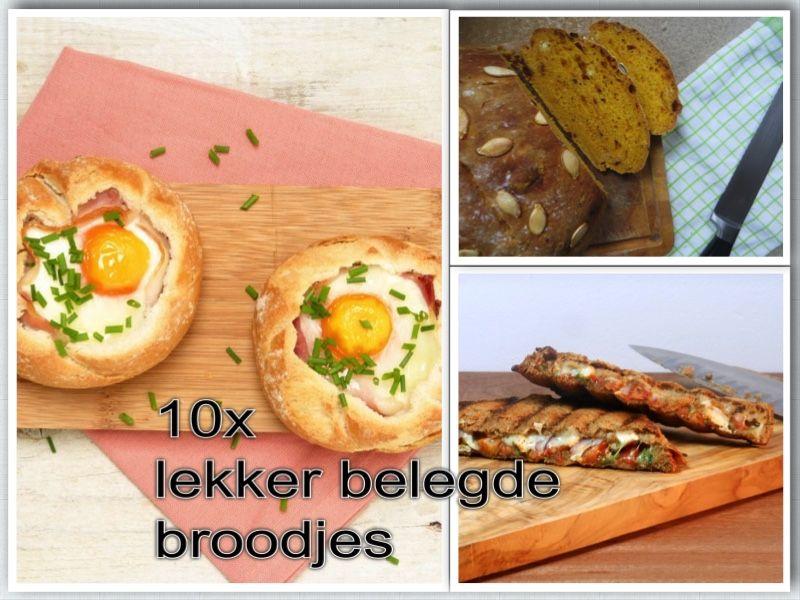 Top 10x lekker belegde broodjes - recepten voor originele, simpele en #HX35