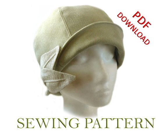 SEWING PATTERN - Grace, 1920s Cloche Hat for Child or Adult   Hüte ...