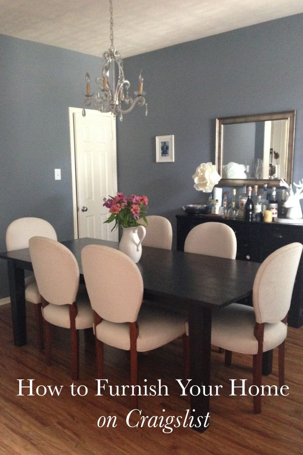 How To Furnish House With Modern Furniture: How To Furnish Your Home On Craigslist