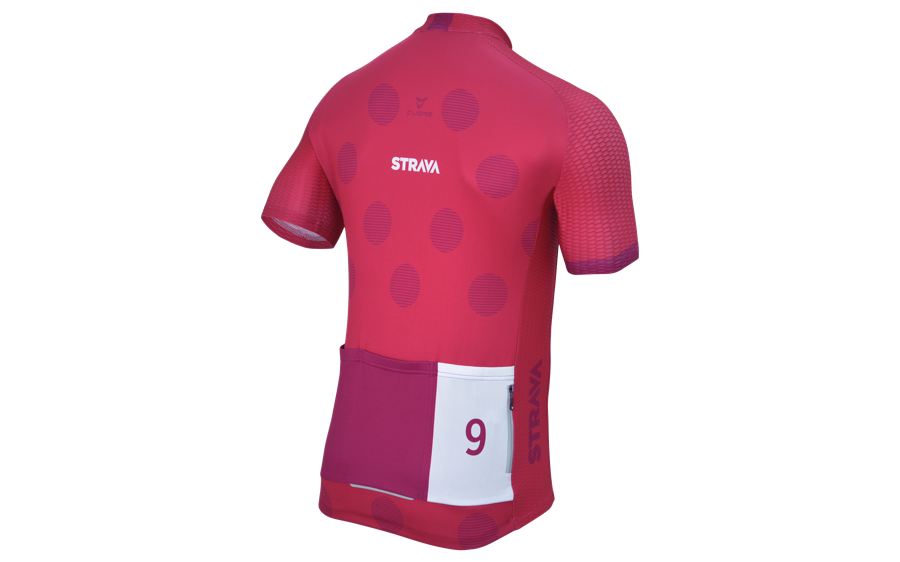 Men's September Climbing Challenge Jersey Strava Ciclismo
