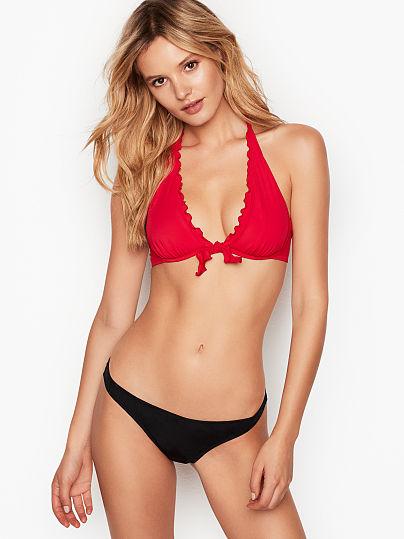 Ruffle-edge Halter - Victoria's Secret - vs