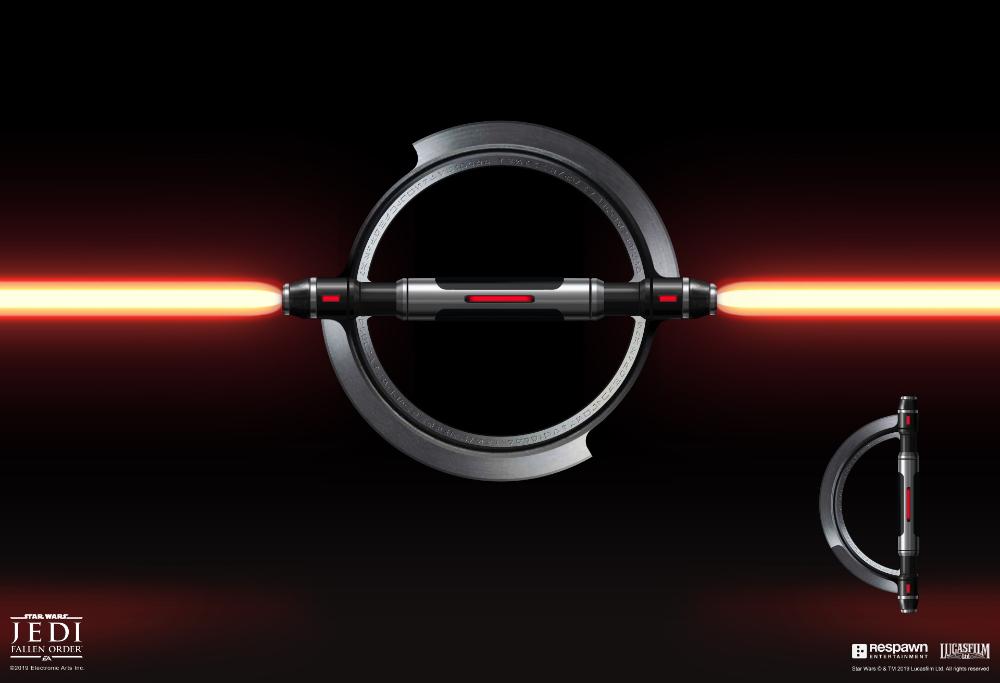 Artstation Jedi Fallen Order Inquisitor Lightsaber Jordan Lamarre Wan Star Wars Light Saber Inquisitor Lightsaber Star Wars Villains