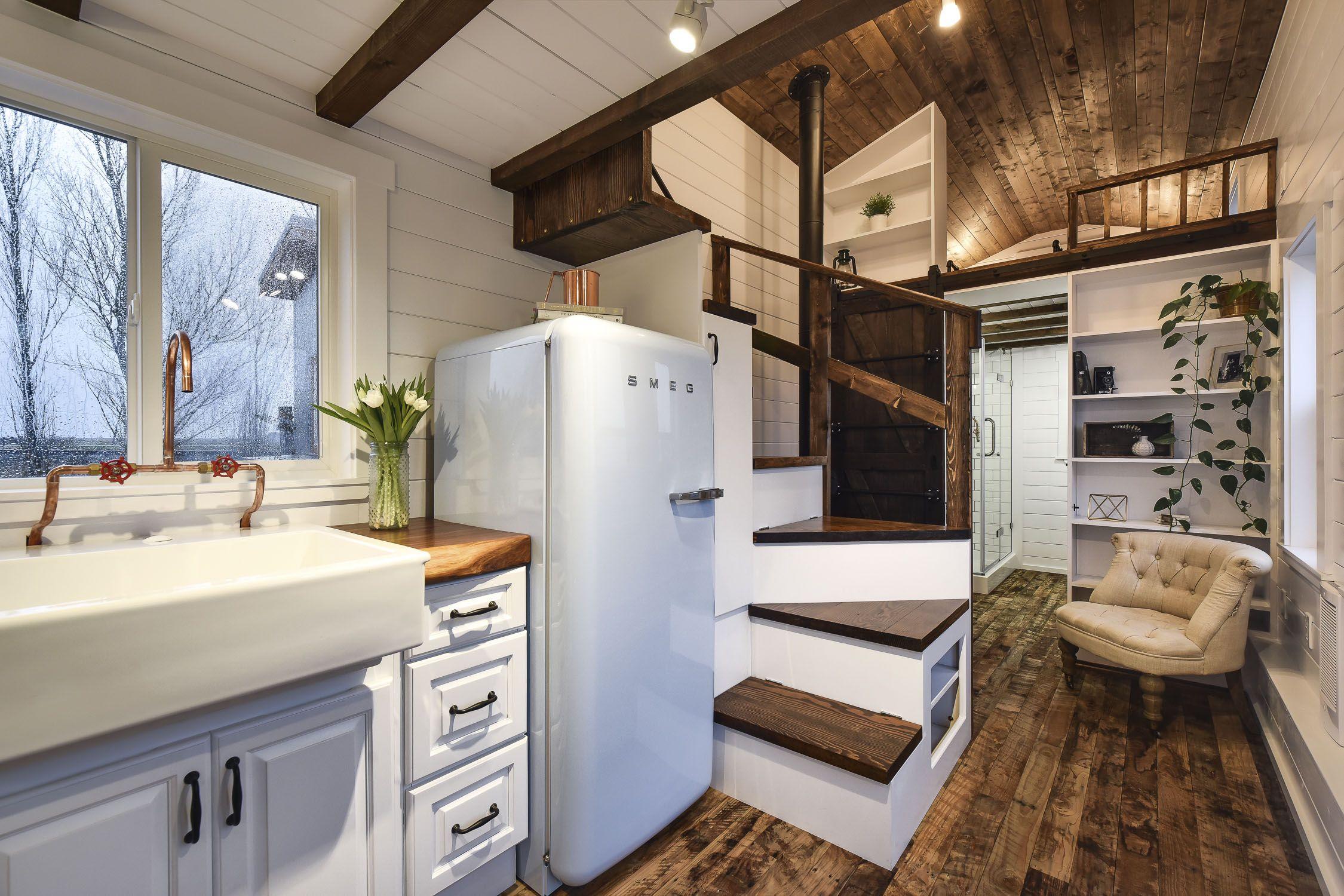 Rustic Loft | Tiny house company, Tiny house listings ...