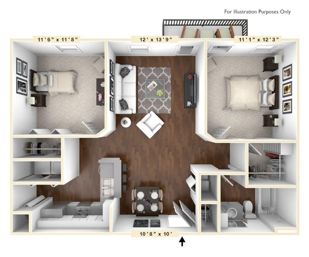 3 Bedroom Apartments In North Columbus Ohio 3 Bedroom Apartment Bedroom Apartment Cool Apartments
