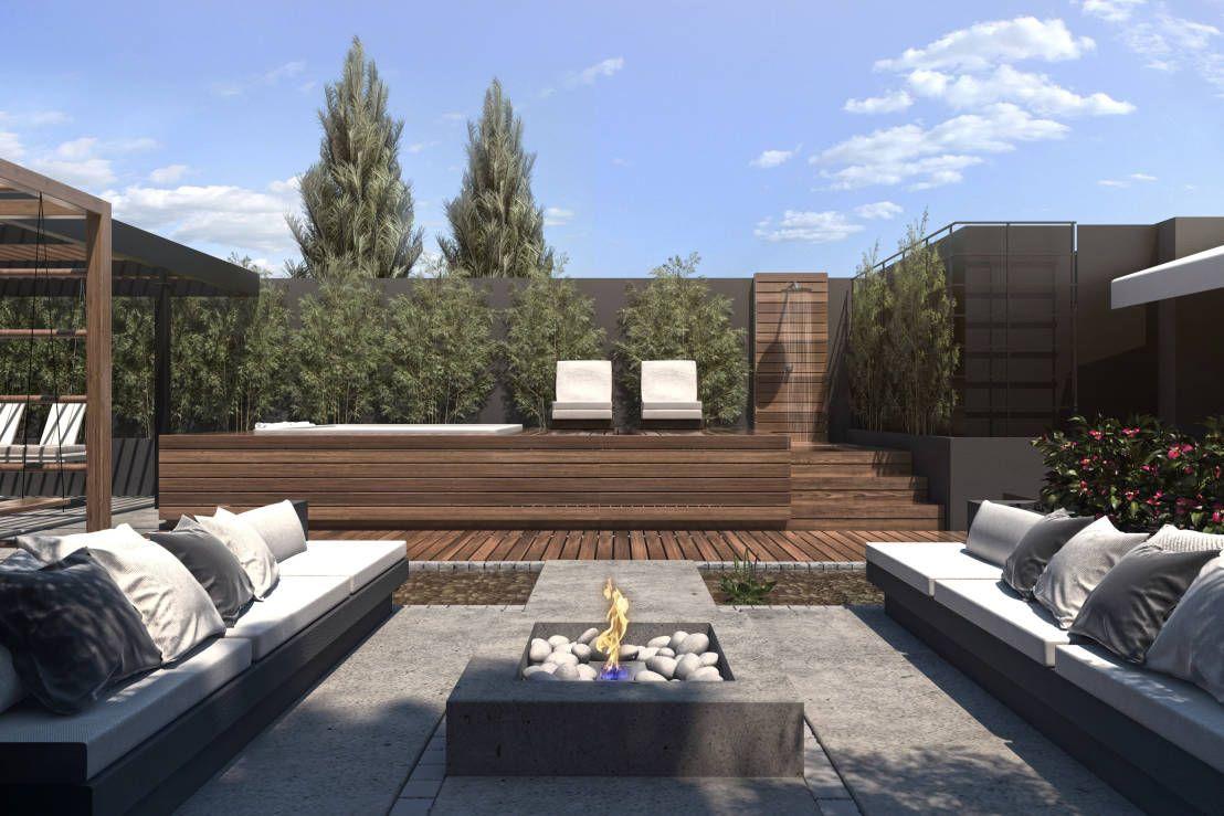 Espacio Solarium Balcones Y Terrazas Modernos De Tdc