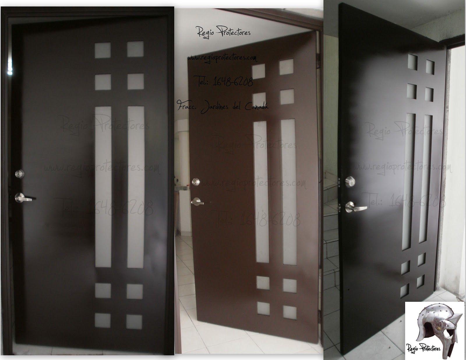 Puertas de aluminio de entrada principal latest puertas - Puertas de aluminio para entrada principal ...