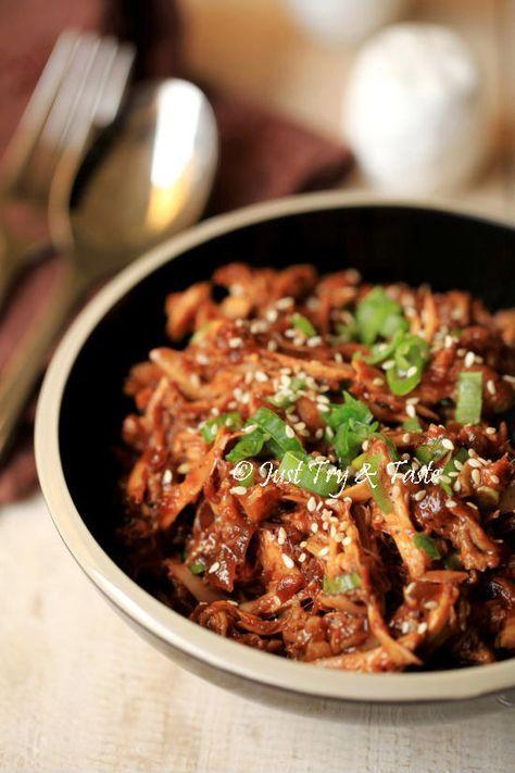 Resep Ayam Suwir Saus Teriyaki | Resep ayam, Resep, Resep ...