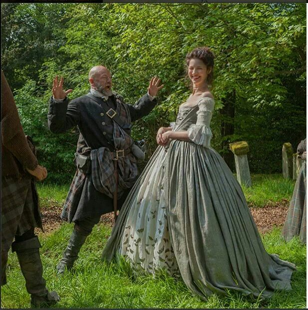 Outlander wedding bloopers ♡