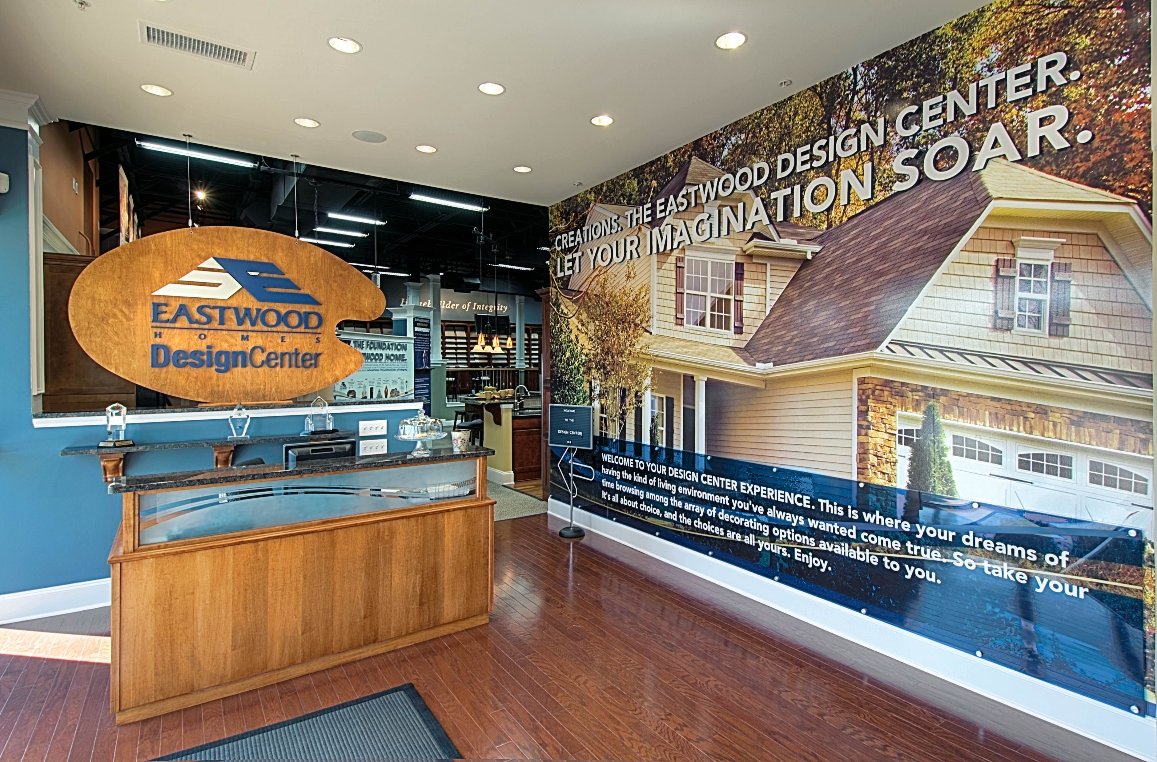 Eastwood Homes Design Center Customize Your New Home With Eastwood Newhomebuilder Southeast Design Home New Home Builders House Design
