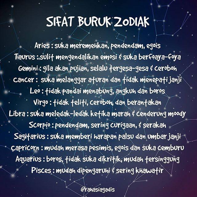 Kata Kata Bijak Kata2bijak Twitter Fakta Zodiak Bijak
