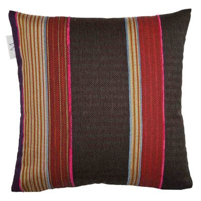 MaduraUS Lima Pillow Cover Color: Bright Red