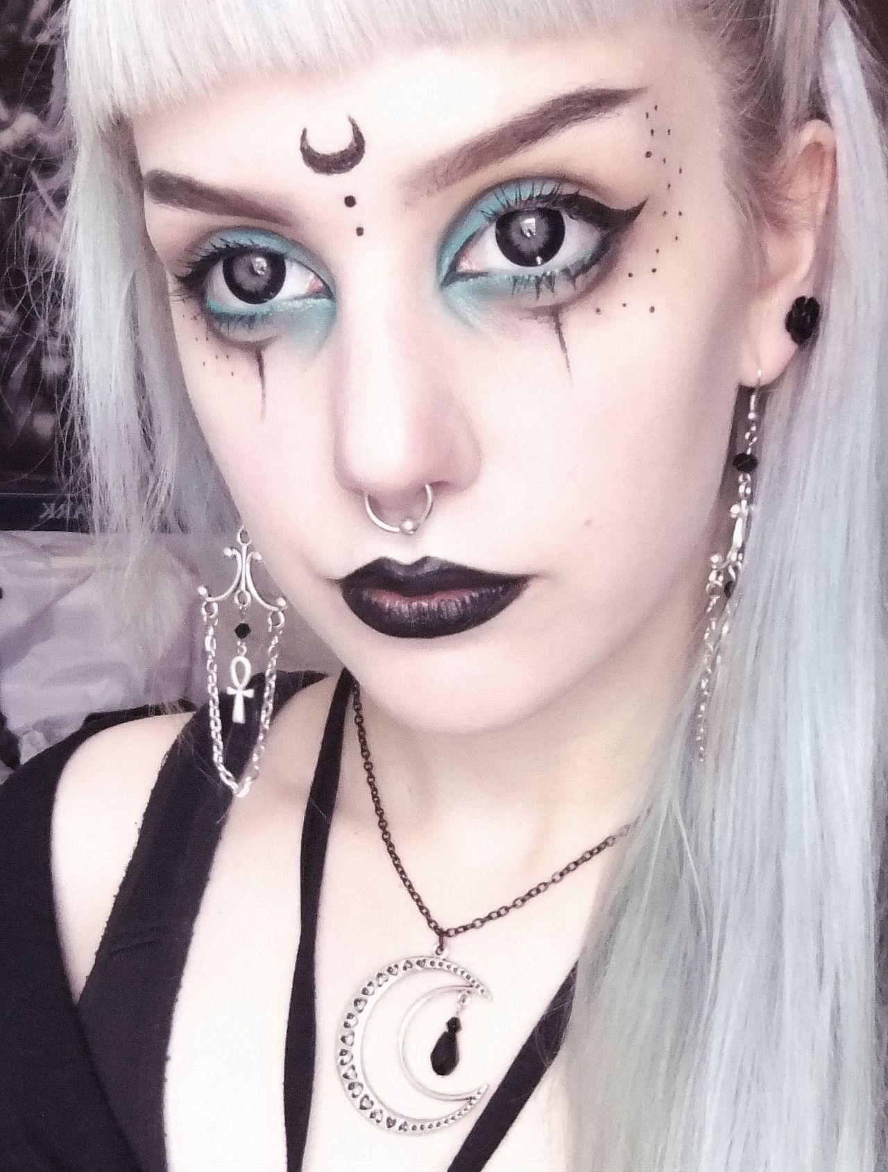 Image result for pagan witch makeup