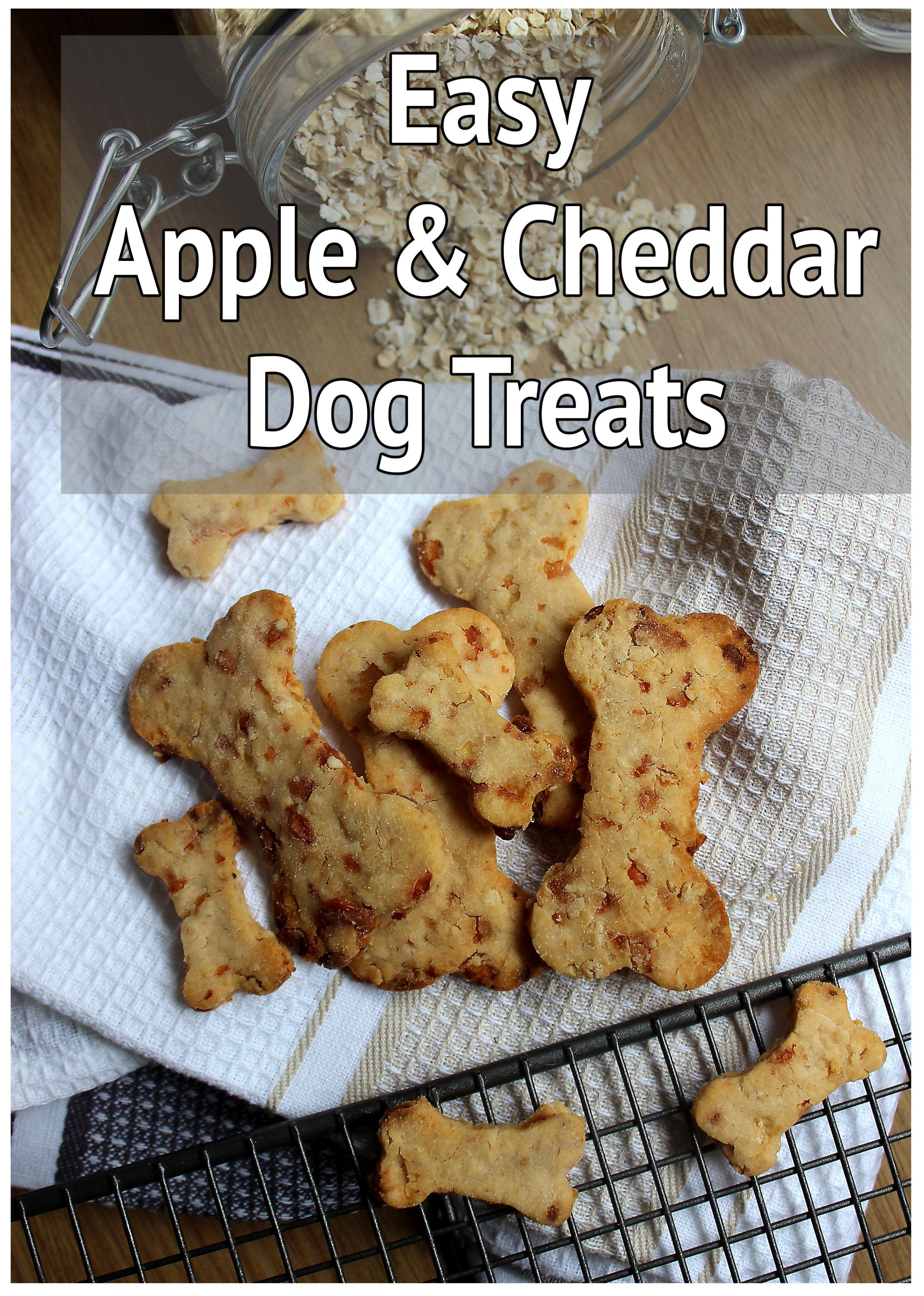 All Natural Apple And Cheddar Dog Biscuits Recipe Homemade Pet