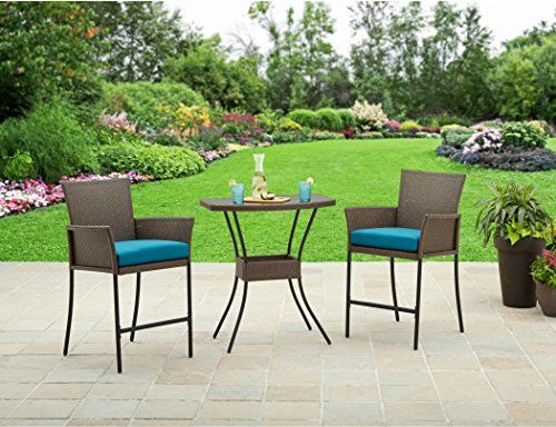 Outdoor Space Makeover Better Homes And Gardens Patio Furniture Fairfield  Bay 3 Piece Balcony Outdoor