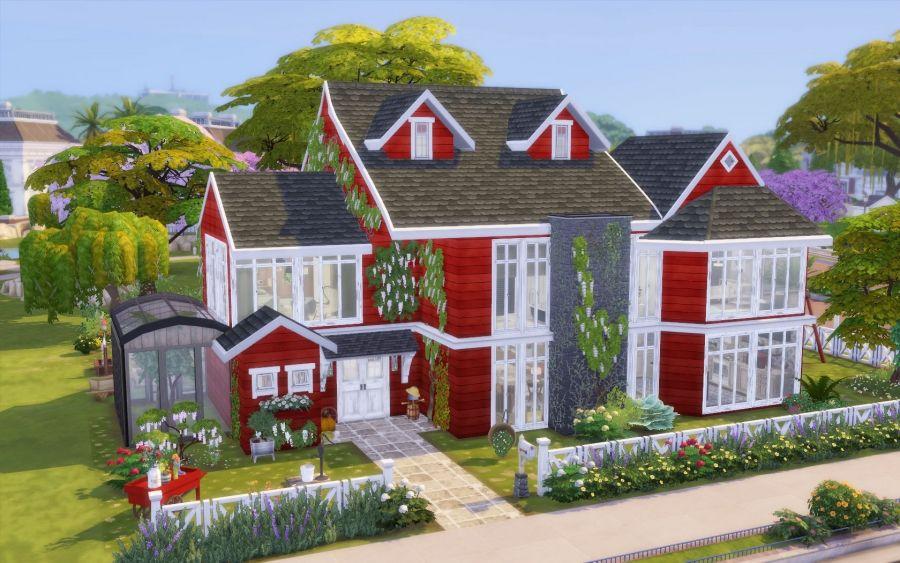 Epingle Par Maeva Barbot Sur Sims En 2020 Maison Sims Sims 4 Maison Sims