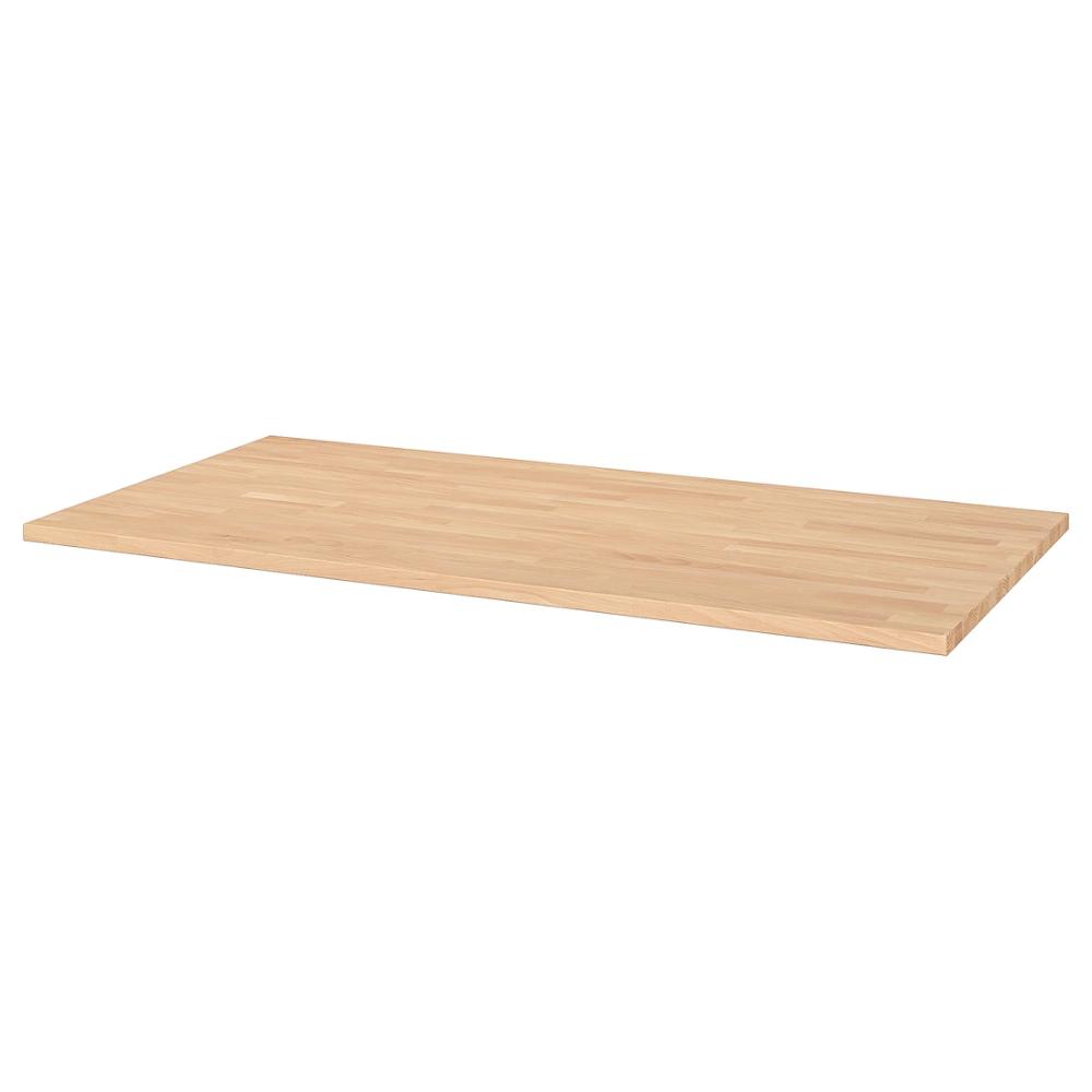 Petit Meuble Roulettes Ikea gerton plateau - hêtre 155x75 cm   huile pour bois, plateau