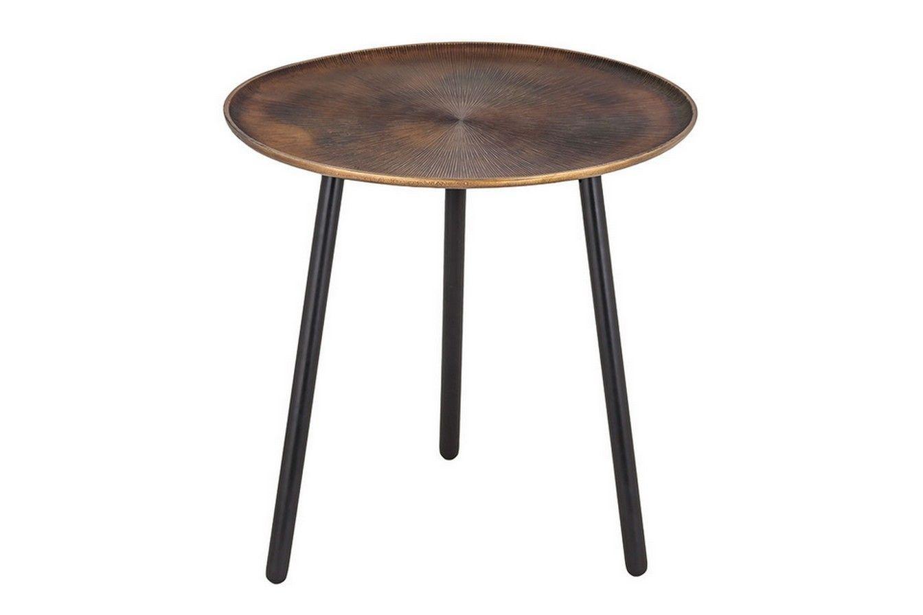 Tabletttisch Metall Bronze Kl Kleinmobel Amp Beisteller Couch Beistelltisch Retro Mobel Beistelltische