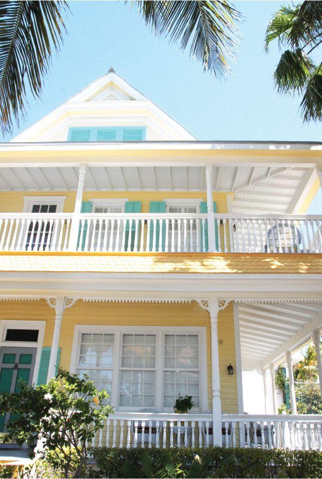 New Home Interior Design Key West Vacation Home: Beach House Colors, Exterior House Colors, House Paint Exterior