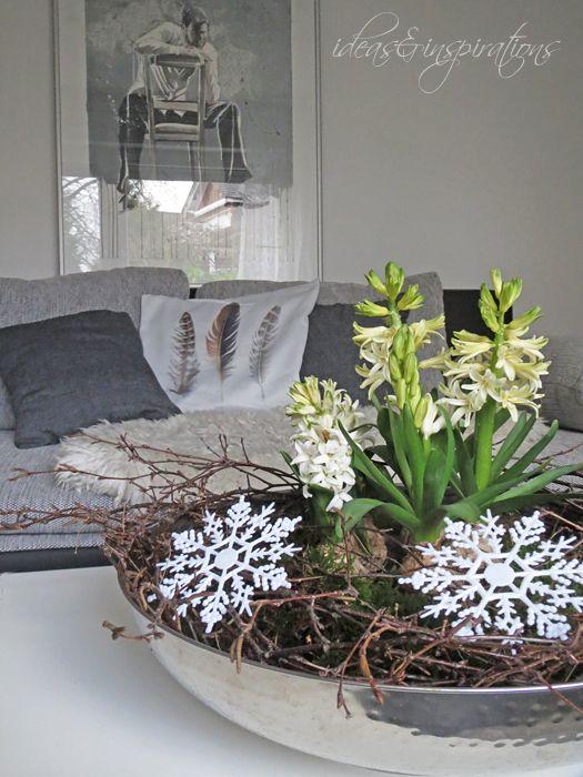Ideas and inspirations winterliche tischdeko winter for Tischdekoration weihnachten dekoration