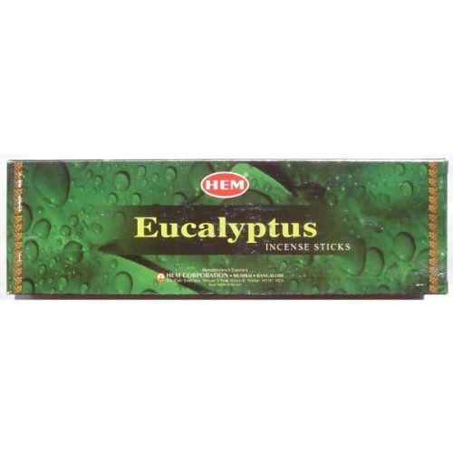 Eucalyptus Incense - Hem - 8 stick - Sold in a set of 5 boxes Incense http://www.amazon.com/dp/B00E6DFI1I/ref=cm_sw_r_pi_dp_VGeIvb08A1V93