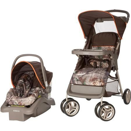 Cosco Lift And Stroll Travel System Realtree Orange Camo Baby