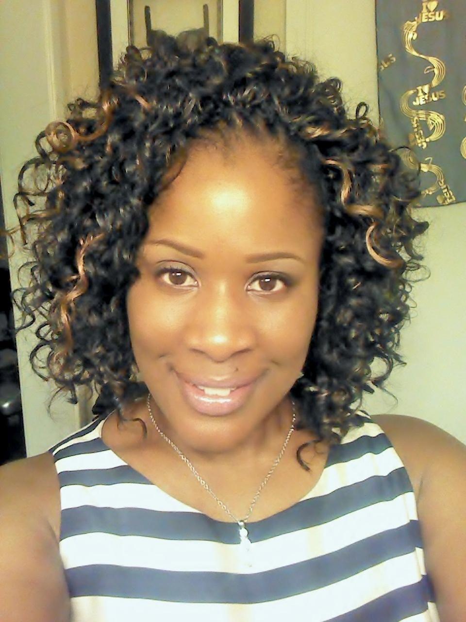 Freetress Gogo Curl Styled By Ms Pk S Crochet Braids Located In Mcdonough Ga Mspk Crochet Hair Styles Freetress Curly Crochet Hair Styles Crochet Hair Styles