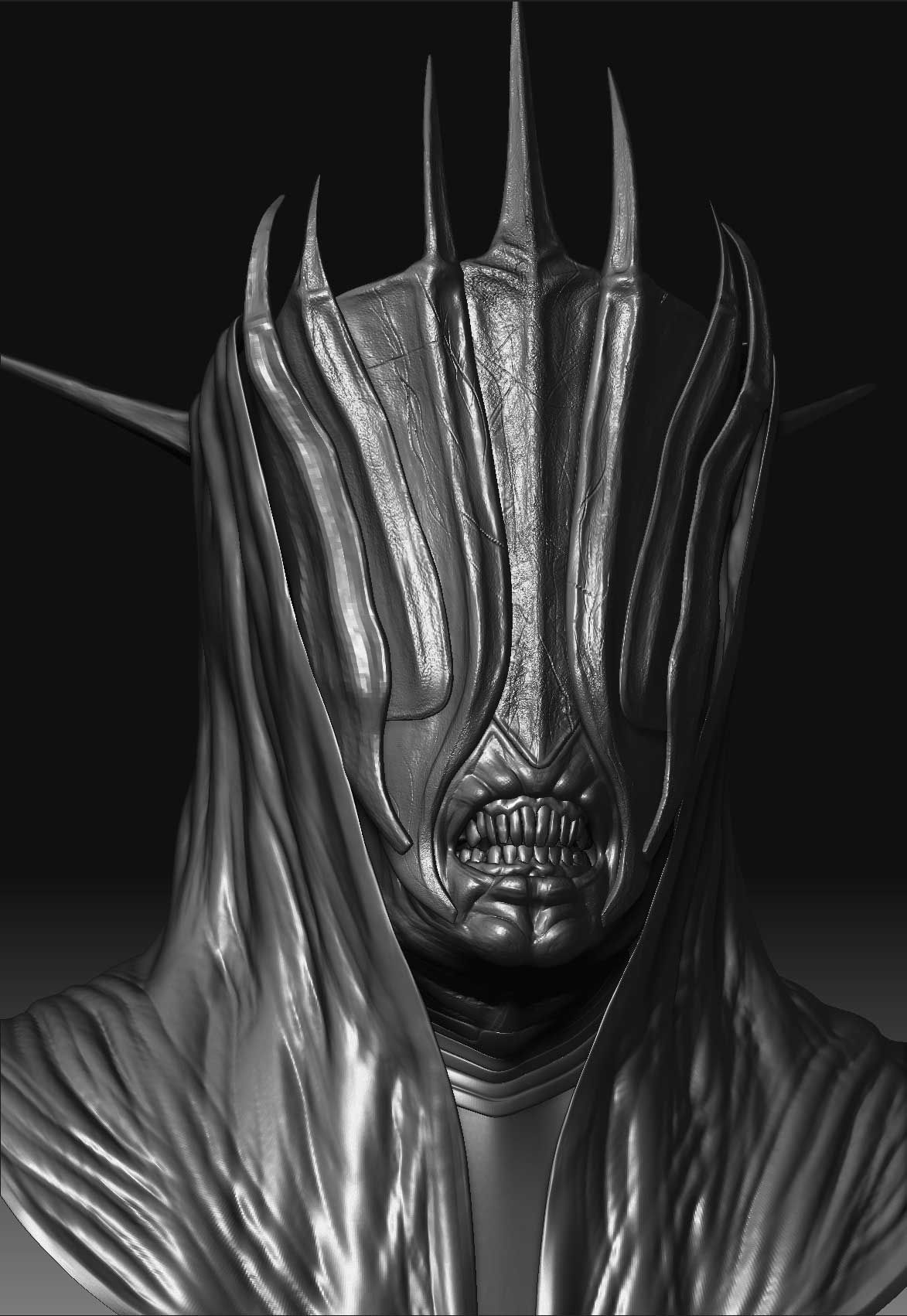 The Mouth of Sauron | The Dark Lord Sauron | Pinterest | Middle ...