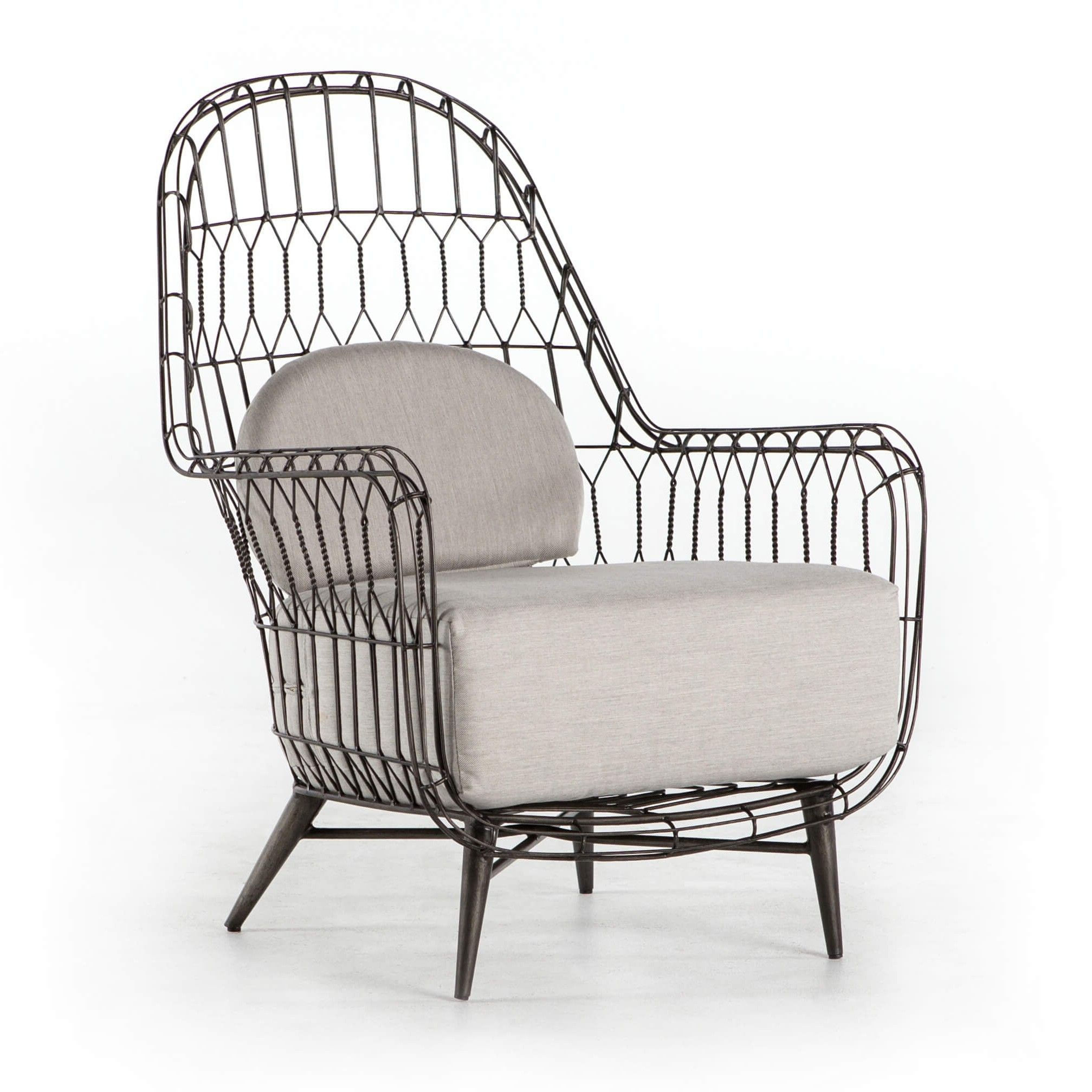 Manten Outdoor Wing Chair Wing Chair Outdoor Glider Chair Lounge Chair Outdoor