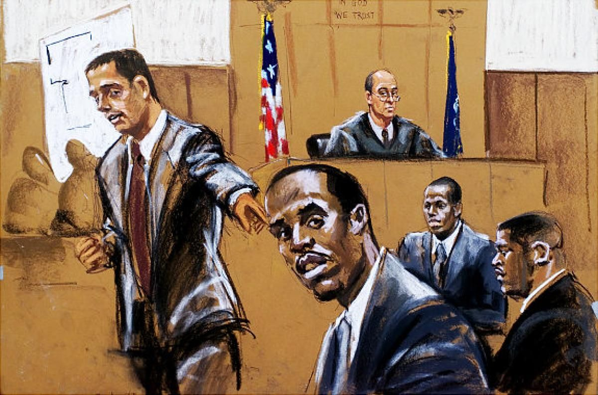 Sketches From Famous Trials Slide 6 Courtroom Sketch Sketches