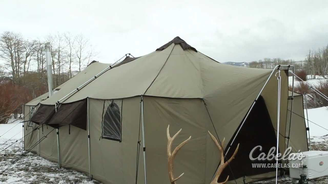 Cabelaus ultimate alaknak tent youtube gear tents tarps