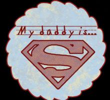 Father's Day Superman Printable