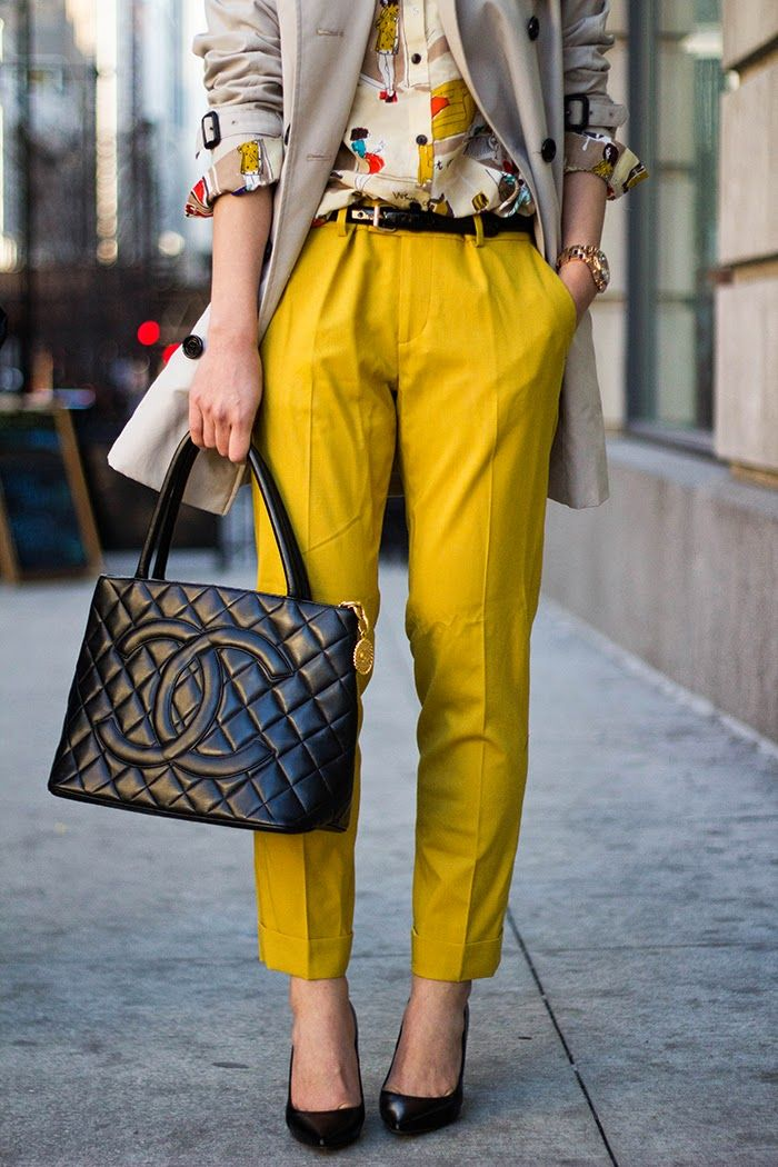 mustard  mustard pants fashion style