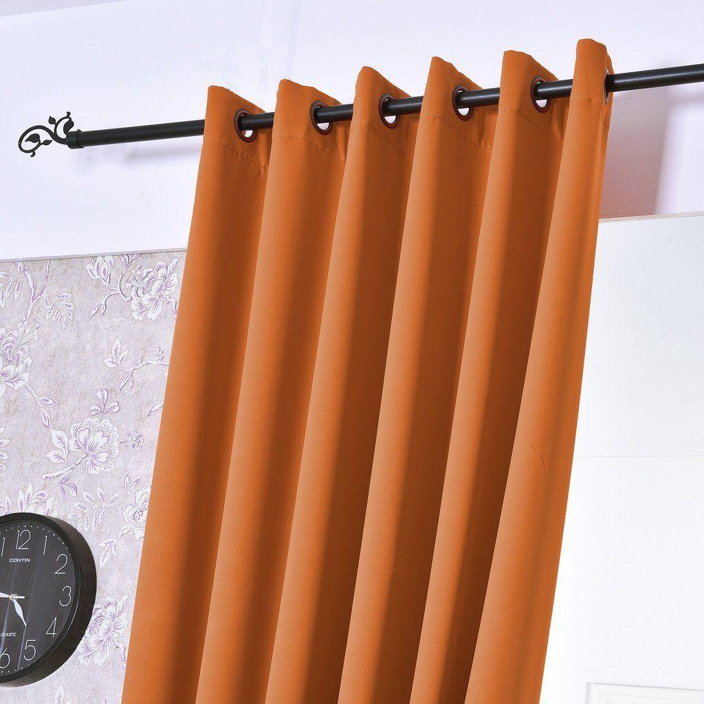 Turquoize® Single Solid Panel Blackout Drape