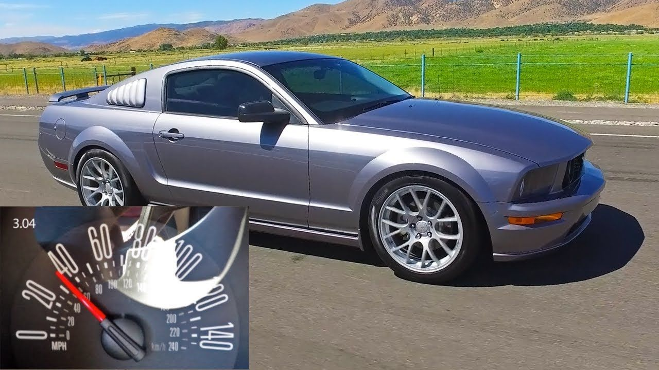 Review 2007 Ford Mustang Gt Specs 0 60 And Images Feels Free To