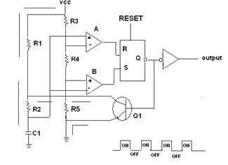 555 Timer IC as a-stable Multivitor | Ideas for the House ... on
