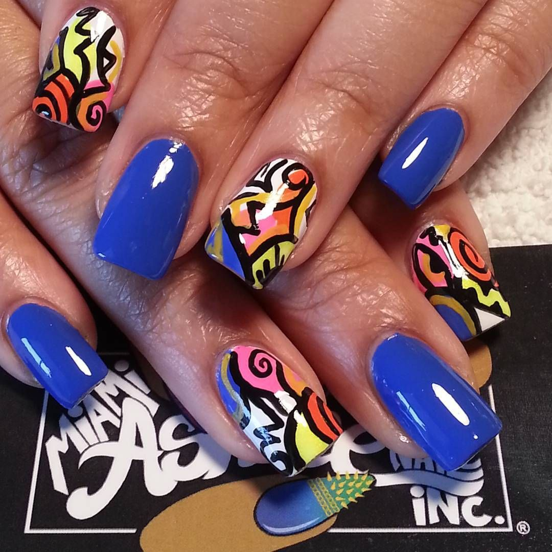 Memphis learn this abstract art from thenailpicasso nail art memphis learn this abstract art from nail art class at bronner brothers show nails done shop 3589 park avenue memphis tn prinsesfo Images