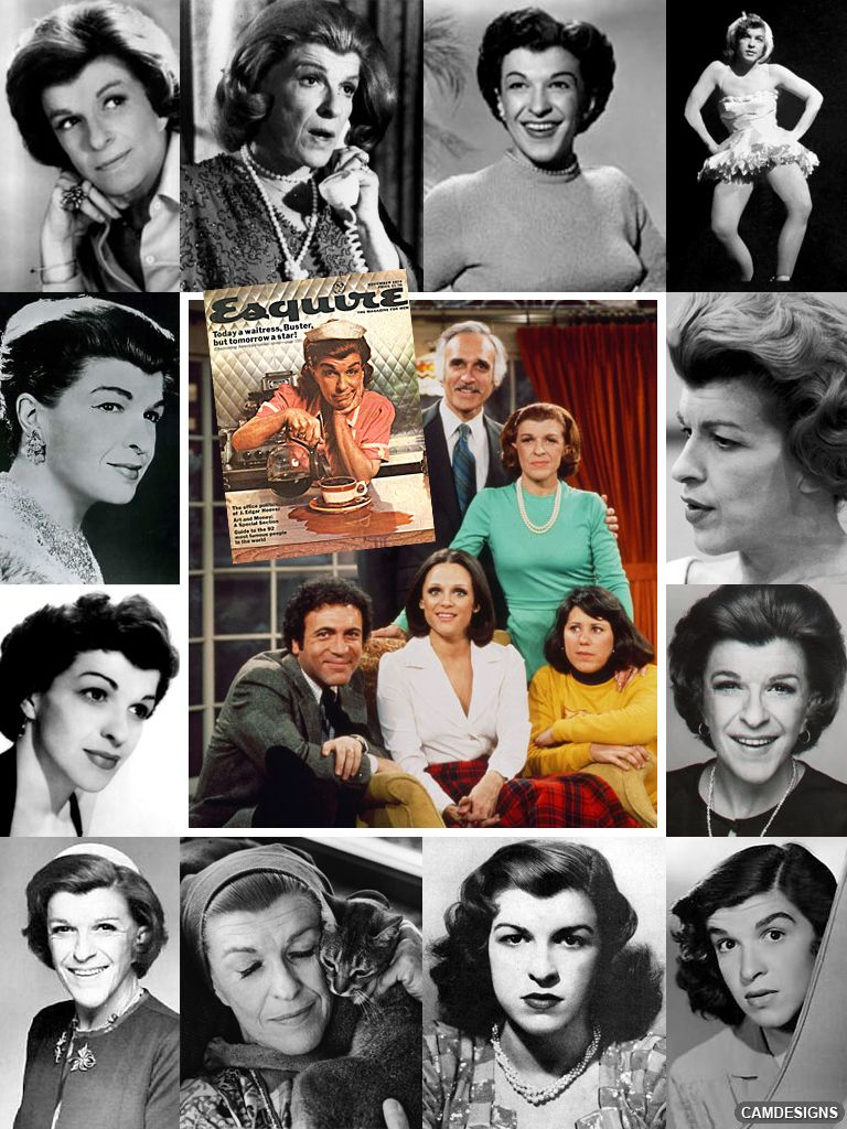 Nancy Walker (May 10, 1922–March 25, 1992) was an American actress & comedienne of stage, screen, & TV. She was also a film & TV director (most notably of The Mary Tyler Moore Show). During her 50 year career, she may be best remembered for her role of Ida Morgenstern, who first appeared on The Mary Tyler Moore Show & later on the spinoff series Rhoda. From 1971-76 she was a regular on Rock Hudson's McMillian & Wife. From 1970-1990 she played Rosie the waitress in Bounty paper towel…