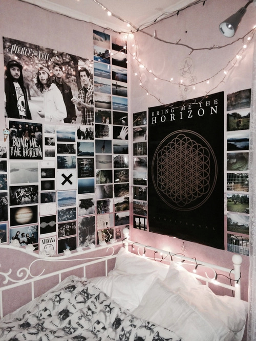 tumblr bedrooms emo google search - Emo Bedroom Designs