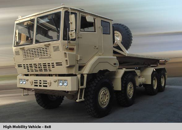 Tata High Mobility Vehicle 8x8 With Images Vehicles Army