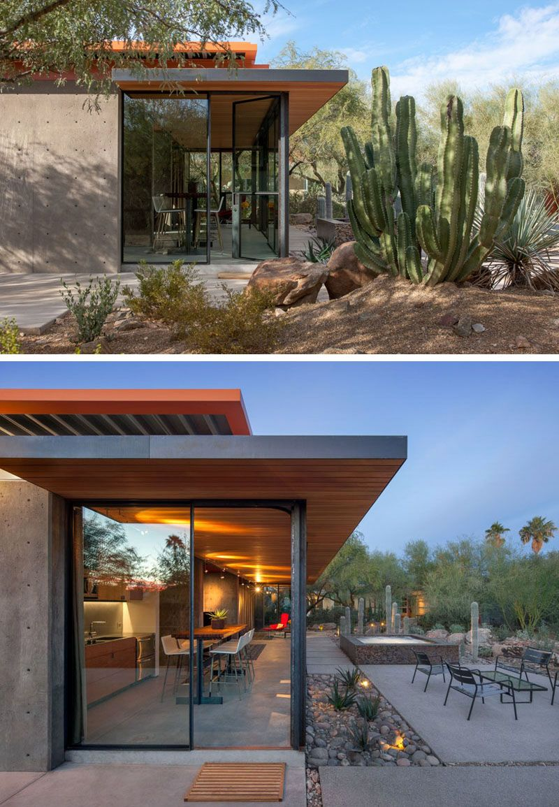 modern guest house. Wonderful House The Construction Zone Have Taken What Was Once A Horse Barn In Phoenix  Arizona And Transformed It Into Modern Guest House With Plenty Of Glass Inside Modern Guest House E
