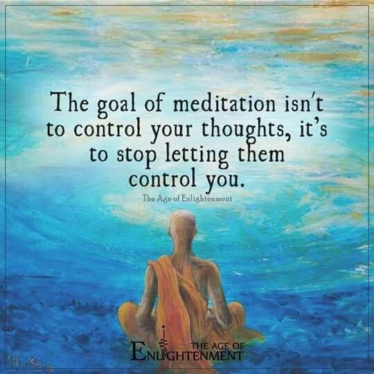 Muy buena síntesis de porque meditar