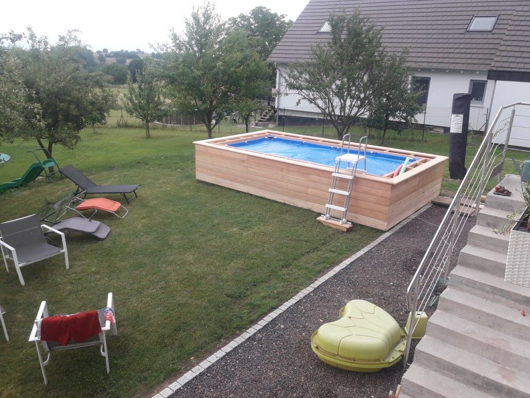 Epingle Par Anthony Palmeri Sur Piscines Bois Habillage Piscine Hors Sol Piscine Et Jardin Amenagement Piscine