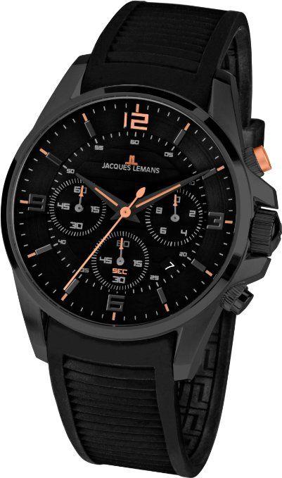 223ca96e677a Jacques Lemans Men s 1-1672E Liverpool Sport Analog Chronograph Watch
