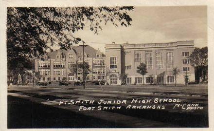 Old Schools Of Sebastian County Arkansas Fort Smith Arkansas