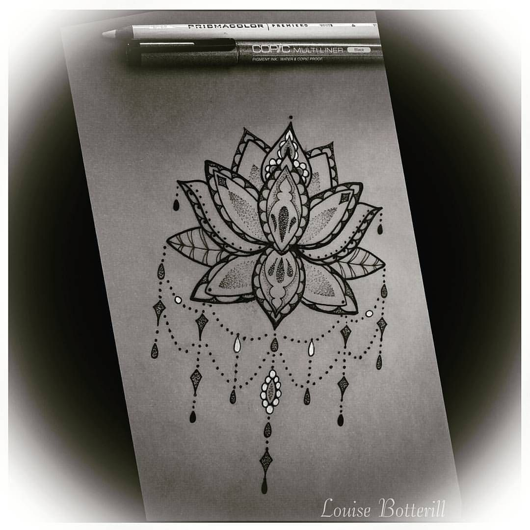 Lotus Flower Drawing Tumblr Google Search Art Inspiration