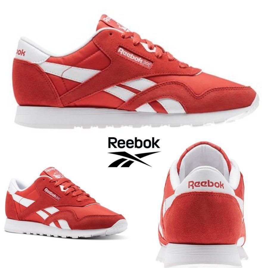 1739f1b30c4 Reebok Classic Nylon Neutrals Shoes Sneakers Clay Tint BS9377 SZ 4-12.5 🔥   Reebok