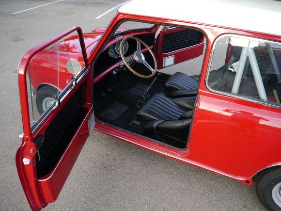 1961 Morris Mini Cooper Red Mk1 Mini Mini Classic