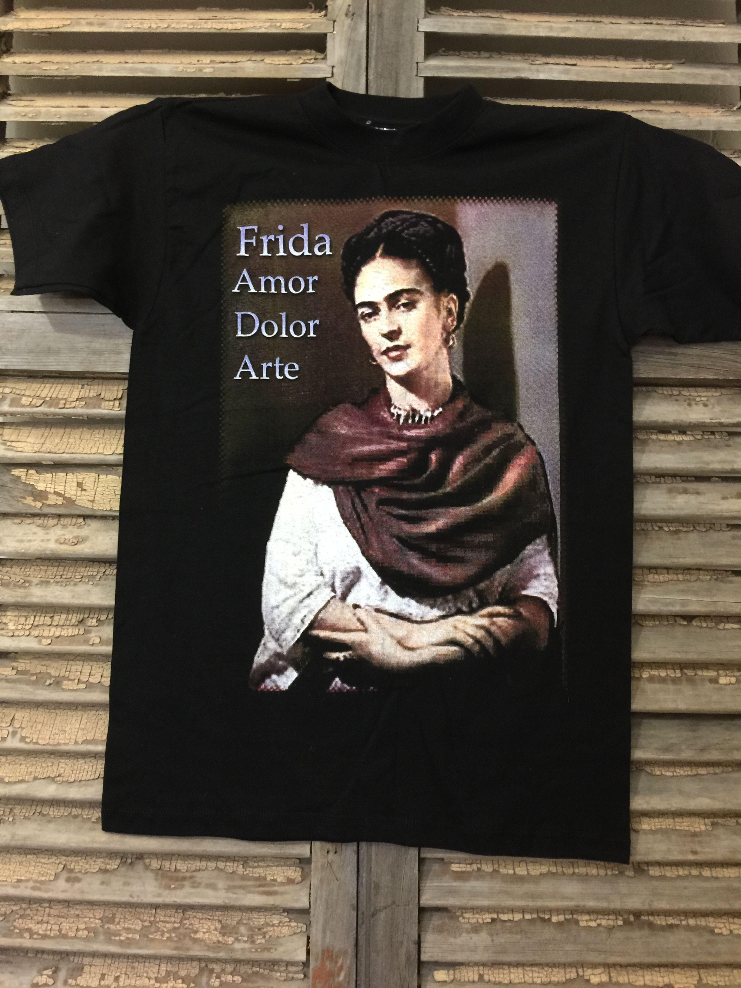 431585399 Frida Kahlo T shirt | Salsa Sisters Online Shop | Mens tops, T ...